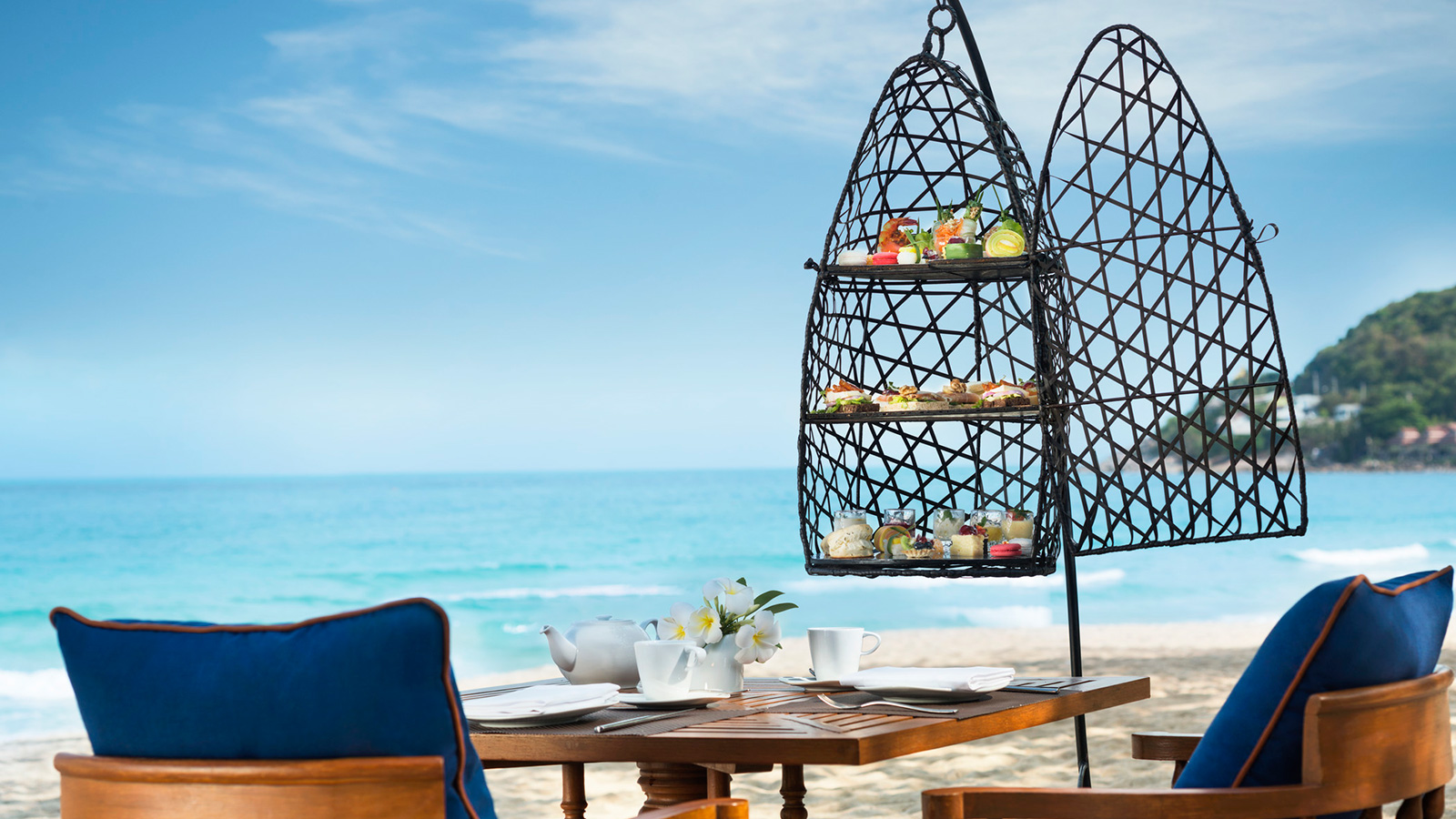 Jib Nam Cha | Signature High Tea | Vana Belle, a Luxury Collection Resort, Koh Samui