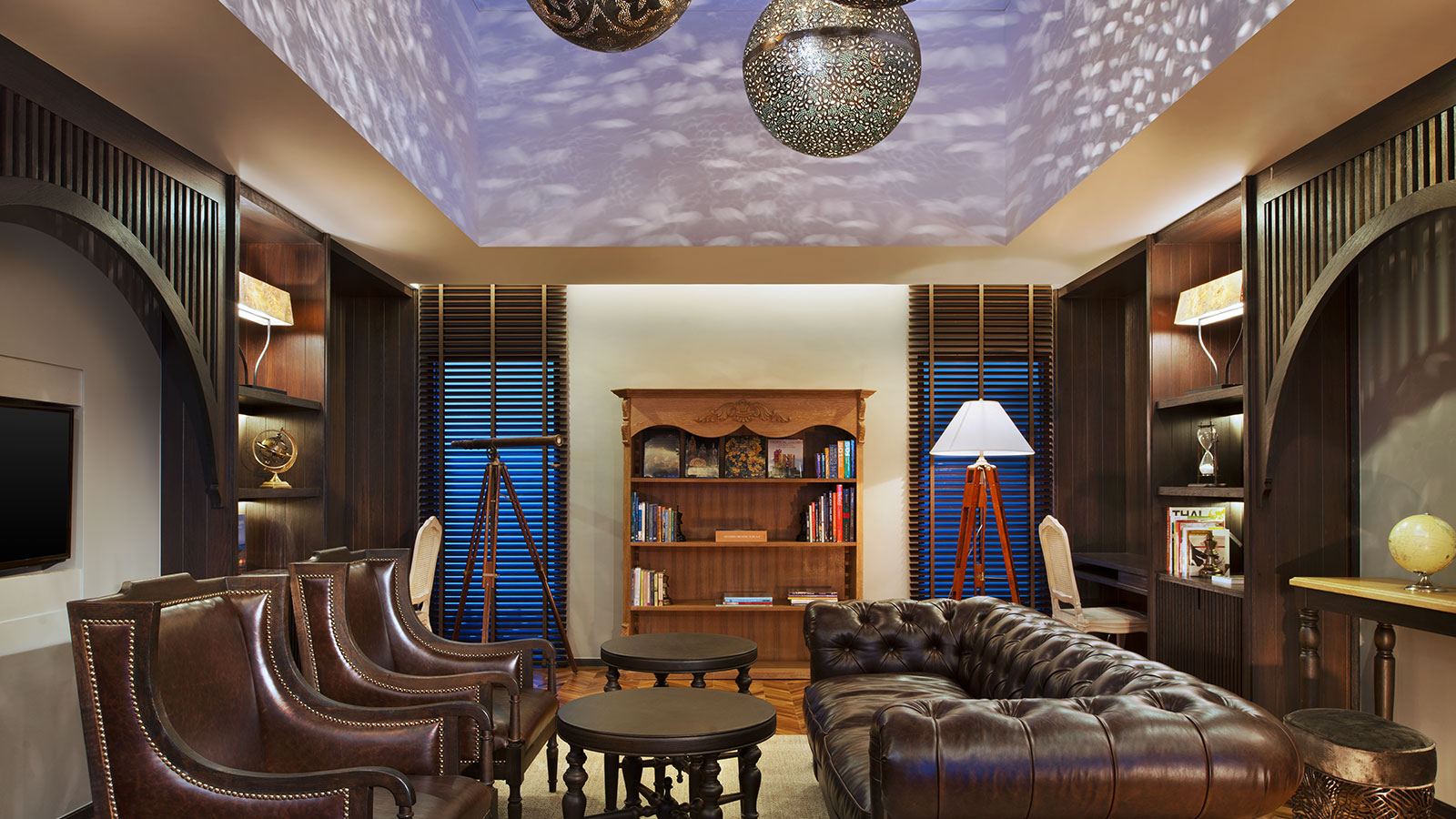 Library at Vana Belle, a Luxury Collection Resort, Koh Samui